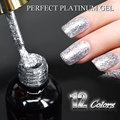 #60752 2016 New CANNI supply nail art Venalisa 12ml 12 color supper diamond shining glitter sequins starry platinum paint gel