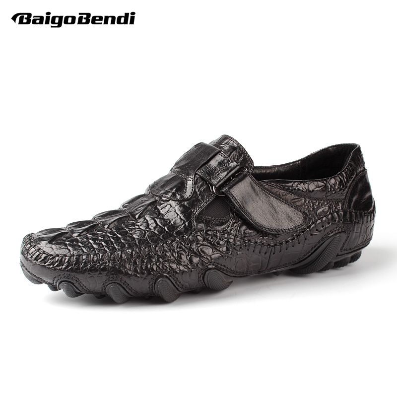 Recommand Mens Fashion Octopus Loafers Casual Soft Driving Shoes Top Real Leather Cool Leisure
