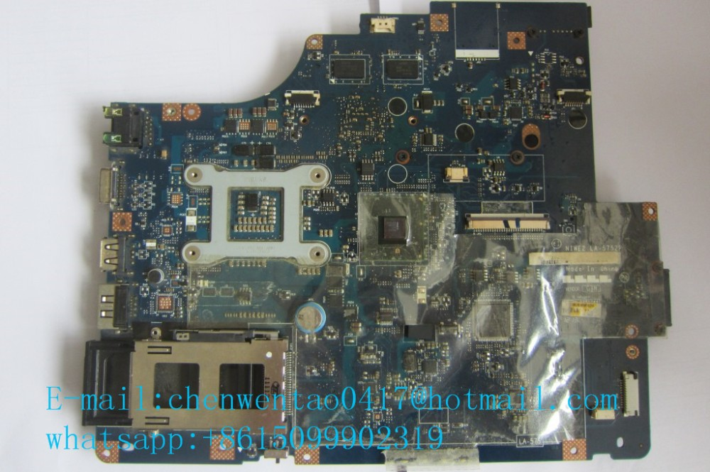G560 Z560 non-integrated motherboard for lenovo ideapad laptop G560 Z560 LA-5752P 560 136x16 g