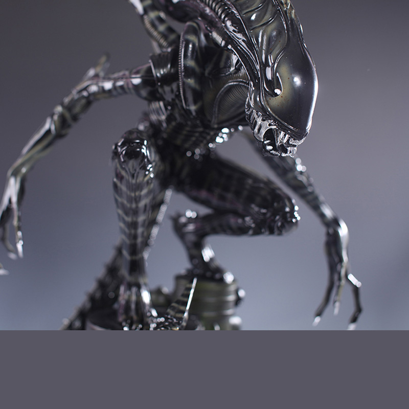 High Quality 1/4 Scale Alien Warrior Whole Body Large Statue Model Sculpture Crafts Recast 58cm Height Action & Toy Figures