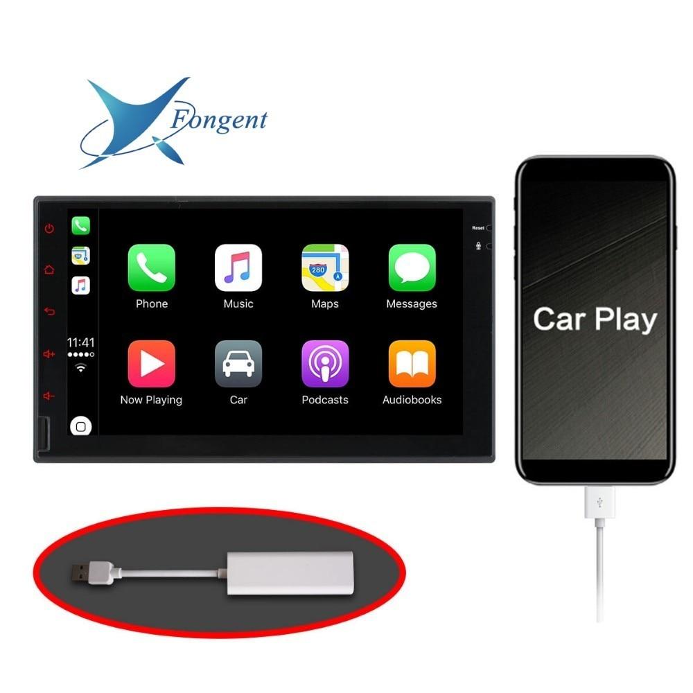 Carplay USB dongle dla samochodów z systemem android nawigacja gps z smart link obsługuje telefony z systemem iOS