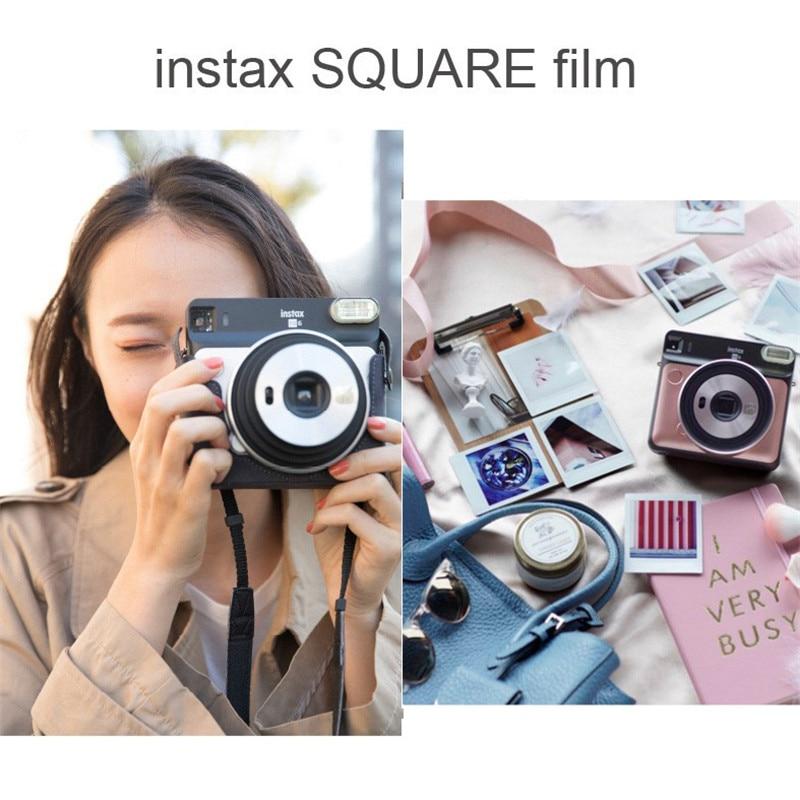 d0dab2a30e3a8 Fujifilm Instax SQ6 cámara de película instantánea de Polaroid instantánea  cámara fotográfica cámara de película foto Camerain 3 colores instantánea  ...
