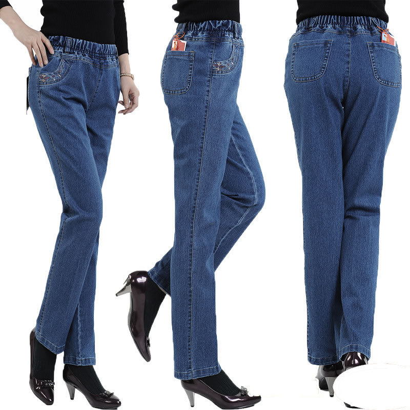 jeans with elastic waist page 42 - eileen-fisher