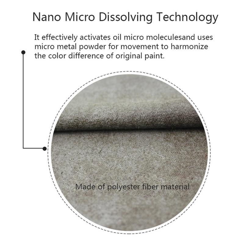 High Quality Car Auto Scratch Restoration Paint Repair Remove Nano Cloth Reusable Polish Clean Tool Portable