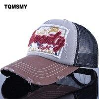 TQMSMY ISLAND SENENTY Snapback Sun Hat Women Bone Breathable Cotton Gorras Adjustable Mesh Men Baseball Caps