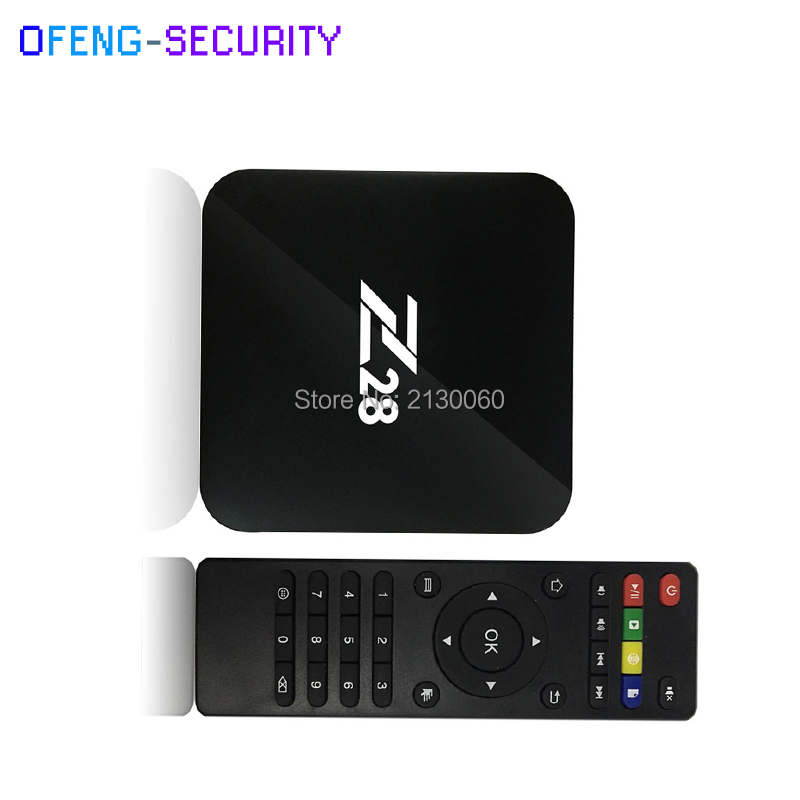 Z28 TV Box RK3328 Quad Core 64Bit 2G + 16G / 1G+8G H.265 UHD 4K VP9 HDR 3D Mini PC WiFi