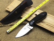 New EDC Hunting COLT CT343 Fixed Knife 8CR13Mov Ebony Handle Small Survival Knife Outdoor Tools Best Quality