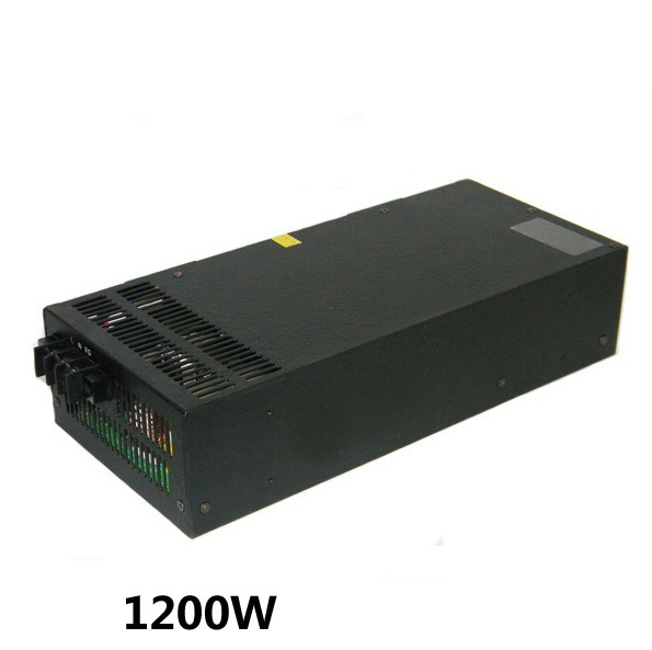 1200W 12V 100A adjustable 220v INPUT Single Output Switching power supply for LED Strip light AC to DC 500w 72v 6 9a 220v input single output switching power supply for led strip light ac to dc