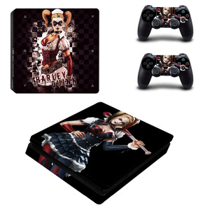 Image 5 - Suicide Squad Harley Quinn PS4 Slim Skin Sticker Decal for PlayStation 4 Console and 2 Controllers PS4 Slim Skins Sticker Vinyl