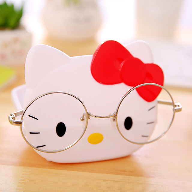 Kitty Glasses Stent Containing Soap Box Multi Function Kids Bathroom  Accessories Kitty Children Bathroom