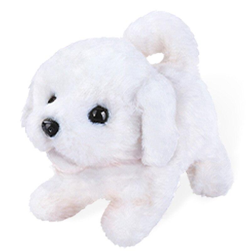 Robô cachorro eletrônico animais de estimação filhote