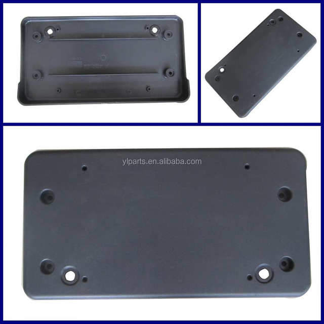 lr026555 car license plate for range rover evoque 2012 auto front license frame with plinth
