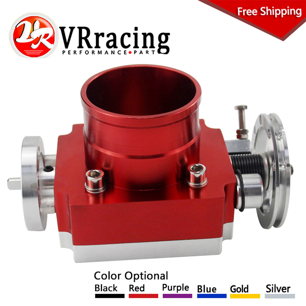 VR RACING - FREE SHIPPING ALUMINUM BILLET HIGH FLOW NEW THROTTLE BODY 70MM THROTTLE BODY PERFORMANCE INTAKE MANIFOLD VR6970  for opel cih customized 128mm connecting rods h beam forged billet 4340 conrods free shipping high performance fitting arp 3 8