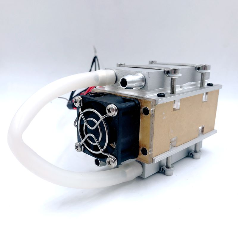 SXDOOL small DIY TEC Peltier semiconductor refrigerator water-cooling air condition Movement for refrigeration and fan