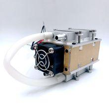 Sxdool pequeno diy tec peltier semicondutor refrigerador água refrigeração ar condicionado movimento para refrigeração e ventilador