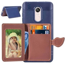 Fashion Wallet Back Phone Case For Xiaomi