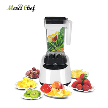 Commercial Smoothie Blender Juicer Fruit Vegetable Electric Kitchen Mixer Grinder Food Processor Multifunctional 1-1.5L Juicer