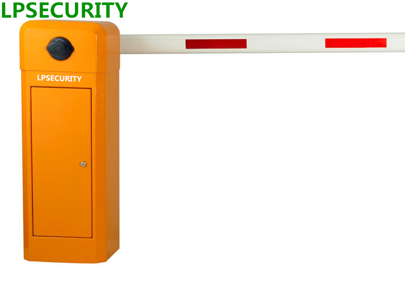 LPSECURITY electric car parking boom barrier gates with opening time 6 second 6m telescopic arm набор для изготовления оригами folia мир животных сафари