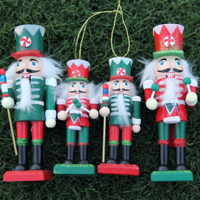 Us 32 44 2030 Counter Genuine Nutcracker Puppet Soldiers Oversized Christmas Ornaments Home Furnishing Decor Wedding Suit In Party Favors From Home