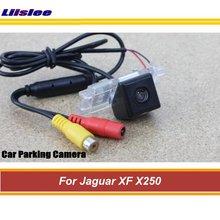 Widok z tyłu samochodu kamera cofania dla jaguara XF X250 2007-2015 Parking AUTO CAM CCD Night Vision tanie tanio Liislee CN (pochodzenie) Plastikowe + Szkło Drutu Pojazd backup kamery Z tworzywa sztucznego For Jaguar XF X250
