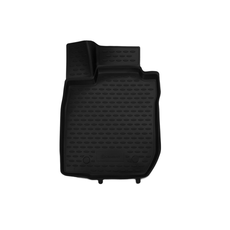 Car Mats 3D salon For RENAULT Logan, 2004-2009, 2010->, front left, 1 PCs (polyurethane)