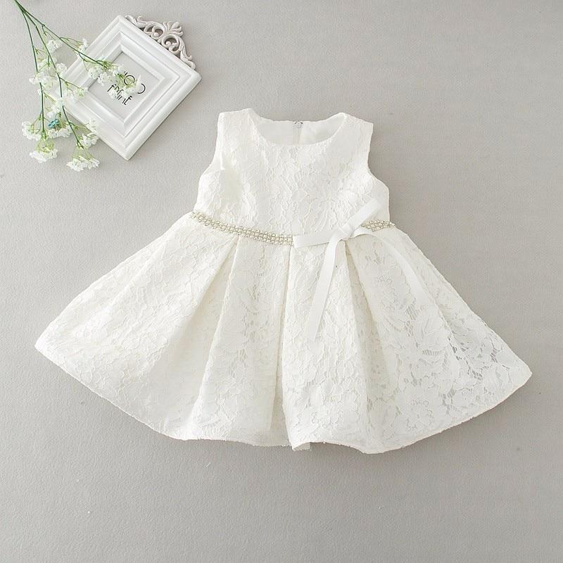 Newborn Baby Girls Christening//Birthday//Prom White Party Princess Dress hat 20