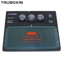 цена на Solar auto darkening filter of welding helmet/welding mask/welder goggles/eye mask for the TIG MMA MIG welding machine