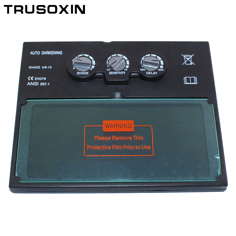 Solar Auto Darkening Filter of Welding Helmet/Welding Mask/Welder Goggles/Eye Mask for TIG MMA MIG Welding Machine
