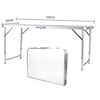 120 x 60 x 70 4Ft Portable Folding Table  1