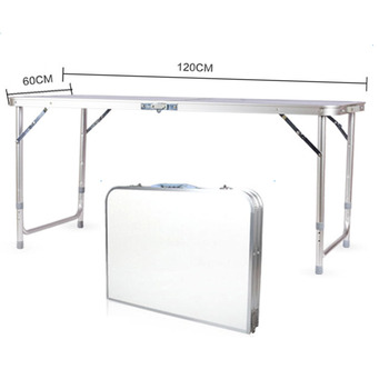 120 X 60 X 70 4Ft Portable Multipurpose Folding Table Desk Utility Table For Indoor Outdoor Camping Picnics Barbecues - US Stock