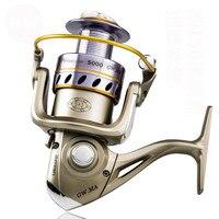 Durable Spinning Wheel Full Metal Spool Distant Reel Carp Fishing Gear Fishing Reel Coil 1000 7000 Series Carretilhas de Pesca