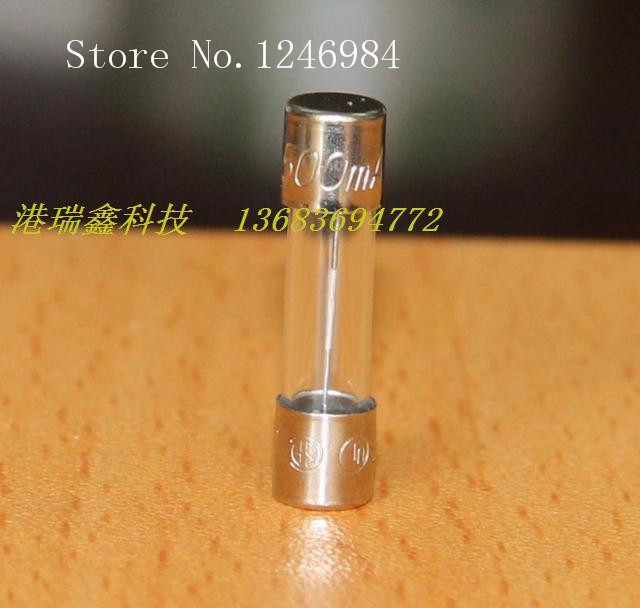 [SA] fusible fusible peut être équipé de 5*20 fusible porte-fusible avec certification de sécurité 0.5A250V-200 pcs/lot