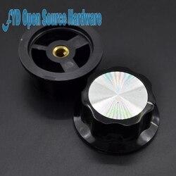 Potenciómetro de baquelita MF-A05 A05, perilla de potenciómetro, tapa de aluminio, baquelita, 5 uds.