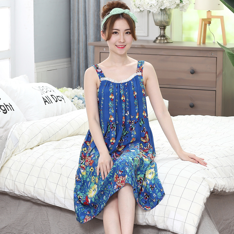 Oversize Women   nightgowns   Sexy Cotton Summer Sexy   Nightgown     Sleepshirts   Sleepwear Lounge Casual Nightwear Female Dress