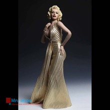 1/6 Beautiful Female Head Sculpt Model Marilyn Monroe Head Carving+Dress+Heeled Shoes For 12″ Action Figure Doll Toys Collection