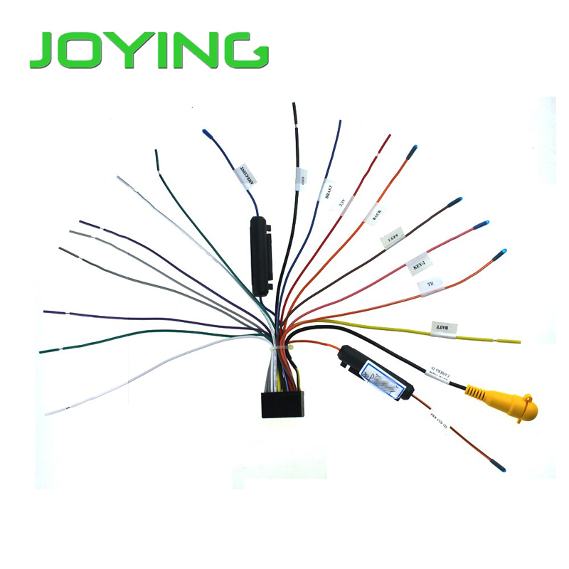 joying universal iso wiring harness cable only for joying