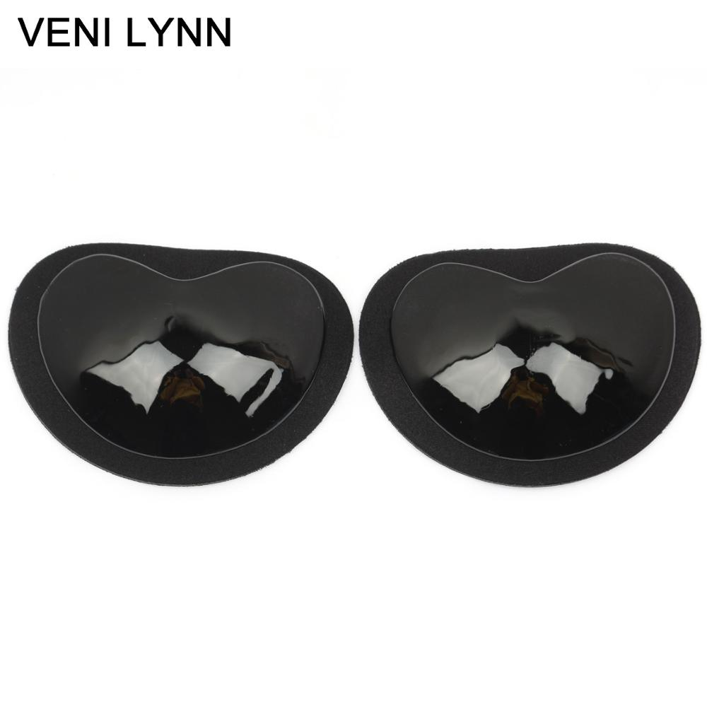 9ae7ca1ada9c9 VENI LYNN Self adhesive Push Up Breast Pads Removable Padded Foam Cups  Sticky Bra Inserts Silicone Padding for Swimsuits Bikini-in intimates   accessories ...