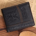 YOUYOU MOUSE Creative Thread Mens Wallets Fashion Small Leather Wallet Simple Designer Short Carteira Card Holder Dollar Purse