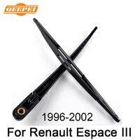 QEEPEI 16 ''リアワイパーアームとブレードルノーエスパス III 1996-2002 高品質天然ゴム自動カーアクセサリー