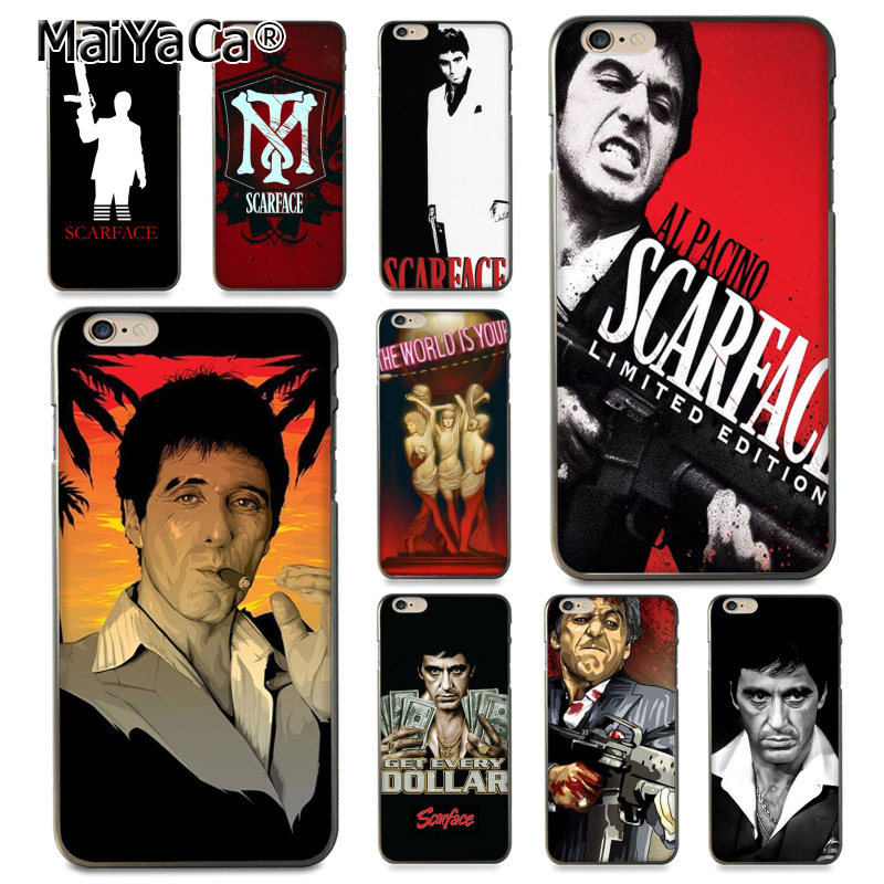 scarface Black Coque Phone Case for iphone 11 12 Pro XR XS Max 8 7 6 6S Plus X 5 5S SE