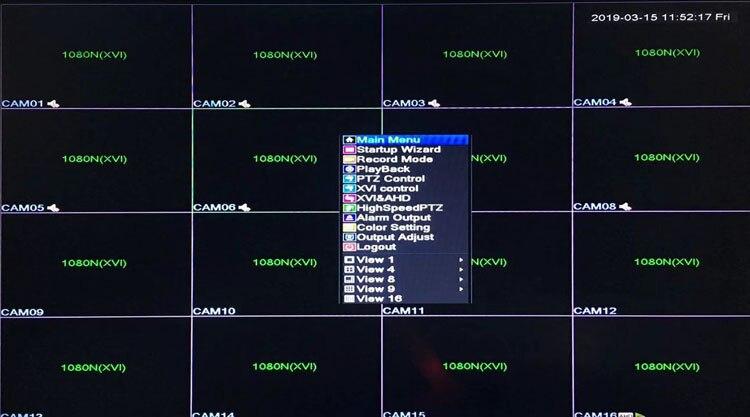 1080P 960P 720P Dahua Surveillance Camera 1080N 16CH 6 in1 H.265 Wifi Hybrid Coaxial XVI NVR CVI TVi AHD CCTV DVR picture 05