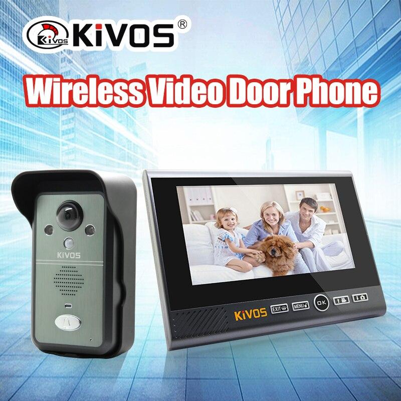 7 Inch 2.4G Wireless Long Distance Intercom Video Door Phone