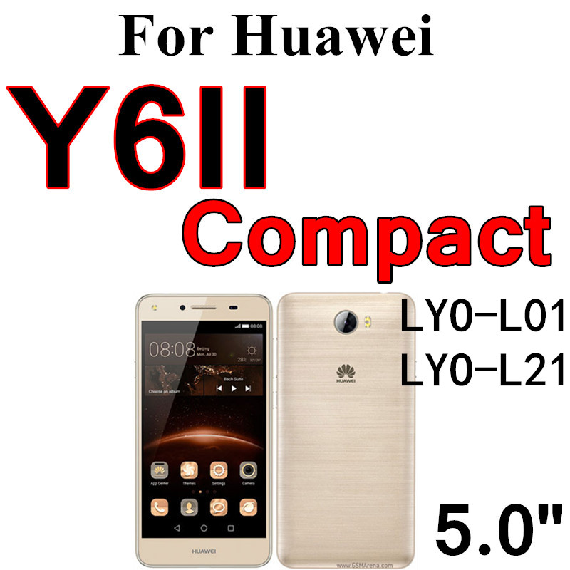 Tempered Glass for Huawei Y5 II Y6 II Compact 2016 III Y6 Pro Y7 Y3 2017 Y6  2018 Screen Protector For Huawei Honor 4C Pro 5A 9H