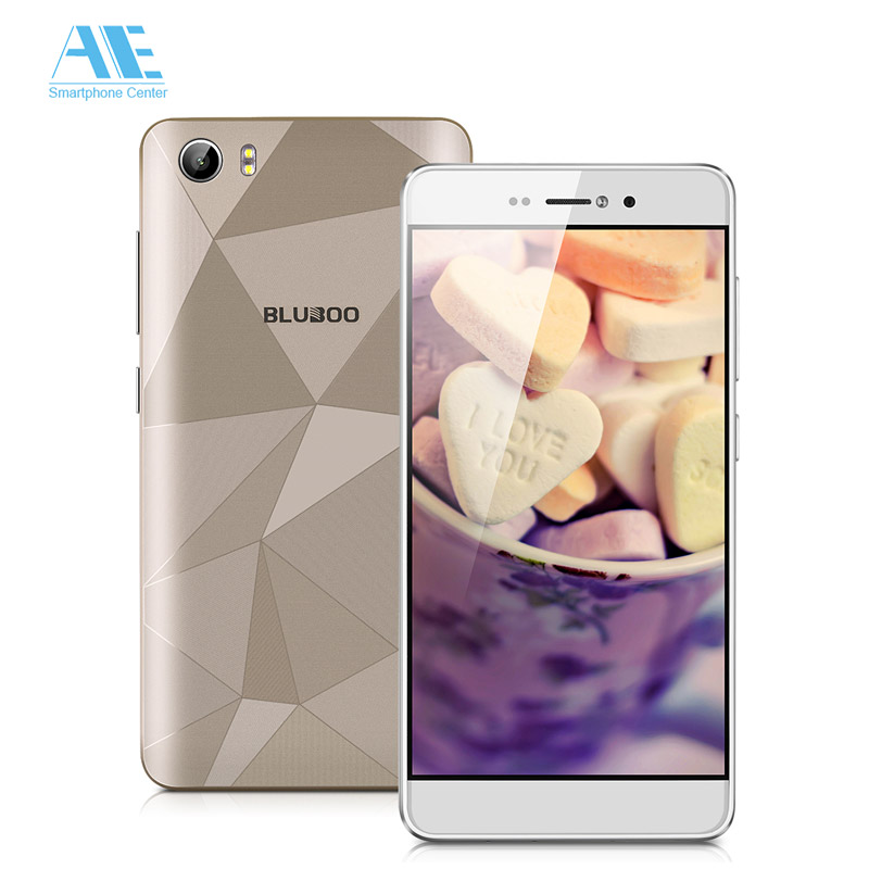 Original Bluboo Picasso 4G MT6735 Quad core Android 6.0 Mobile Phone 5.0Inch 2GB RAM 16GB ROM Smartphone 4G LTE 13.0MP CellPhone