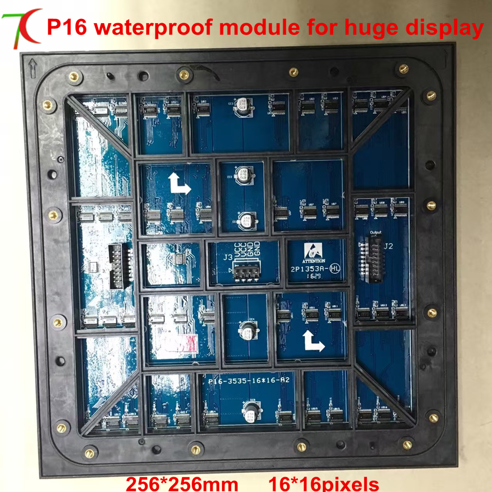 P16 SMD waterproof module for large outdoor screen,3906/sqm