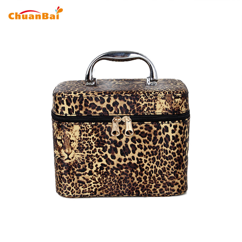 ФОТО Korean Fashion Women Bags Handbags Women Famous Brands Leopard Print Tote Ladies Hand Bags Casual Black Totes Trunk Bag CBP232