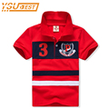 2-7yrs Polo Shirts For Boys High quality Stripe Boys Clothes Brand Boys Girls Cotton Shirts Polo New 2017 Children Clothing