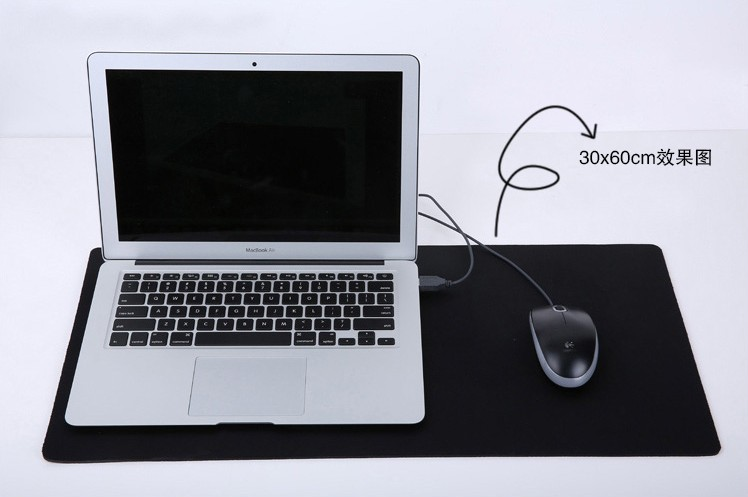 Extra Long Big Large Mouse Pad 30 60 Thick Laptop Desk Keyboard Mat Mousemat Rubber