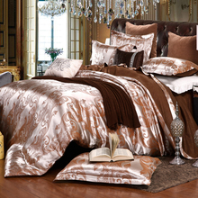 Luxury Bedding Sets Jacquard Queen/King Size Duvet Cover Set wedding Bedclothes Bed Linen bed sheet