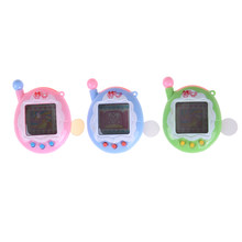 Virtual Pet Electronic Pets Toys Tamagot Elektronic Toys Virtual Cyber Pet Toy Funny Keychain Christmas(China)